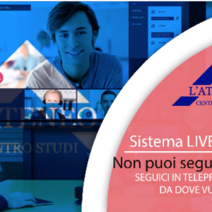 Corsi LIVE (telepresenza)