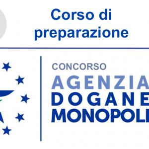 Concorso Agenzia delle Dogane e Monopoli